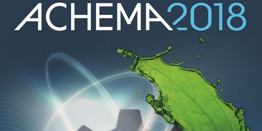 Invitation for ACHEMA trade fair
